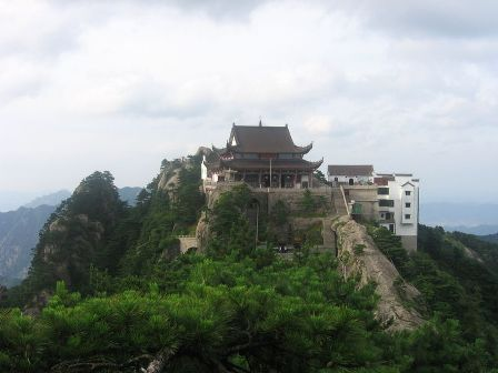 Templo Superior de Daxiong Baodian em Jiuhua Shan