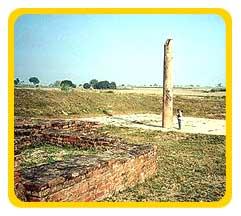 Pilar de Ashoka em Kosambi