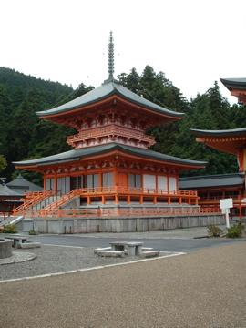 Pagode no Templo Enryaku