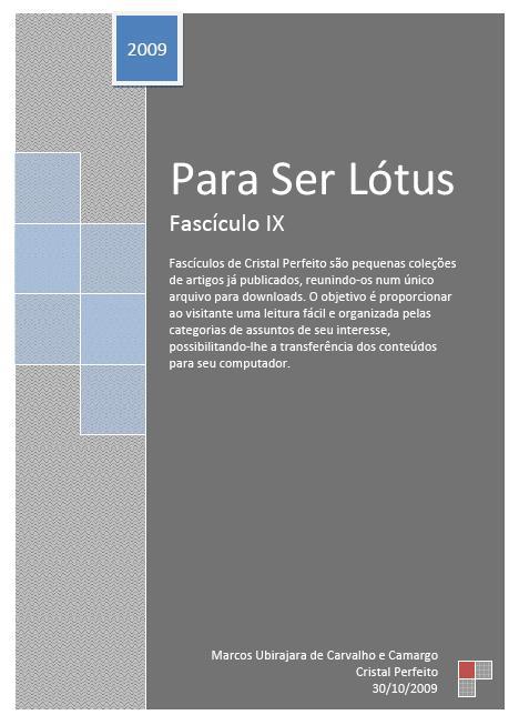 Para Ser Lótus - Fascículo IX