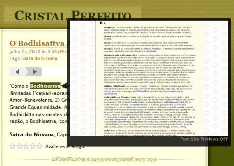 Consulta ao Glossário Pali/Português