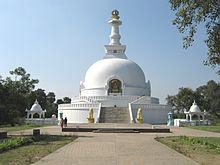 A Torre do Buda em Vaisali